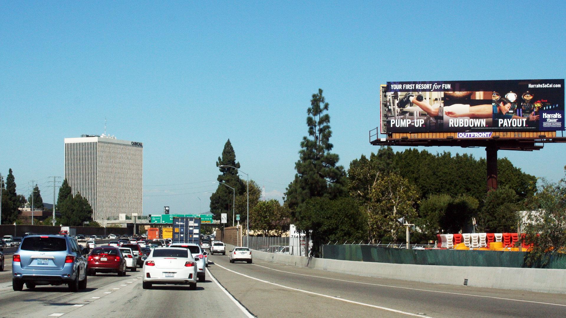 Bray Outdoor Ads Bray Outdoor Ads Bray Outdoor Ads Orange County 22 Freeway